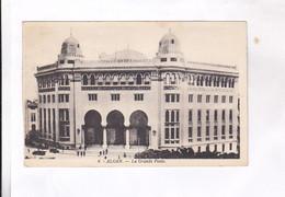 CPA ALGER, LA GRANDE POSTE  En 1947! (voir Timbre) - Algiers