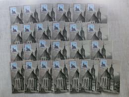 25 Stück Berlin Maximumkarten 855, 12. 10. 1989, Aus Händlerlager! 400. Jahrestag Der Reformation Im Brandenburg - Maximum Cards