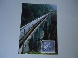 AUSTRIA MAXIMUM CARDS  TRAIN TRAINS - Trains