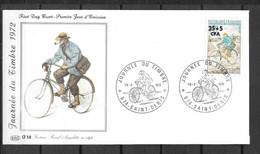 1972 - 8 - 408 - Journée Du Timbre - Storia Postale
