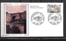1972 - 7 - 406 - Château De Sedan - Storia Postale