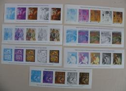 Épreuves  Couleurs  ( Impression En Héliogravure )  Les 7 - Documents Of Postal Services