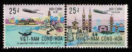 Viêt Nam - 1972  - Air Vietnam -  N° 431/432 - Oblit - Used - Viêt-Nam