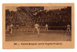 Publicité Pour Les BISCUITS Julien Damoy : Photo Du Match De TENNIS Cochet - Brugnon Contre Hughes - Kingsley. - Other