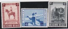 Belgie     .    OBP   .   938/940       .   *     .    Ongebruikt Met Gom   .   /   .  Neuf Avec Gomme - Unused Stamps