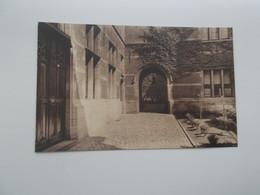 "ANTWERPEN: Godshuis ""L.-J.-J Somers-Isenbaert-De Boey"" - Wolstraat 31 - Antwerpen"