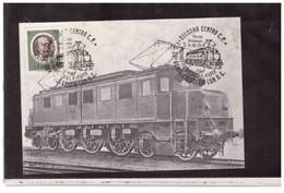 TEM14008  -   BOLOGNA  3.12.1977   /   50° ANNIVERSARIO ESERCIZIO CON D.C. - 4° MOSTRA FILATELICA D.L.F. FILTER - Trains