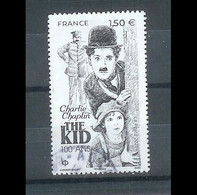 Superbe Timbre Gommé Nouveauté Charly Chaplin 2021 Oblitérée TTB PCD Rond - Used Stamps