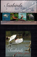 MDB-BK22-123 MINT PF/MNH ¤ SIERRA LEONE 2011 KOMPL. SET ¤ BIRDS OISEAUX - BIRDS OF THE WORLD - PAJAROS - VOGELS - VÖGEL - Marine Web-footed Birds