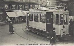 Nantes. Tramway électrique - Nantes