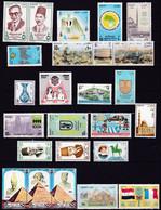 EG277 – EGYPT – 1988-89 – NICE MNH LOT – Y&T # 1369→1396 – CV 22,15 € - Neufs