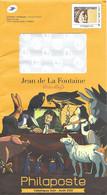 France (2021) Entier Postal De Service  Bicentenaire  Poète Jean De La Fontaine Sabine De Gandon Postal Stationery - Prêts-à-poster:  Autres (1995-...)