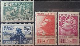 R2269/48 - 1946 - COLONIES FR. - ALGERIE - SERIE COMPLETE - N°249 à 252 NEUFS** - Nuovi