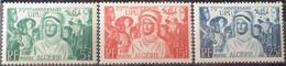 R2269/49 - 1946 - COLONIES FR. - ALGERIE - SERIE COMPLETE - N°276 à 278 NEUFS** - Nuovi
