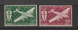 Guadeloupe 1945 Série Londres PA 4-5  2 Val ** MNH - Aéreo