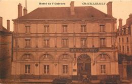 CHATELLERAULT HOTEL DE L'UNIVERS CARTE SEPIA - Chatellerault
