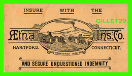 BUVARD - AETNA INS. CO, HARTFORD, CONNECTICUT, CHARTERED 1818 - - A