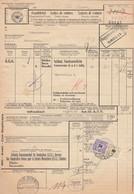 SUISSE. LETTRE DE VOITURE PETITE VITESSE. BEIL-TÄUFFELEN_INS. BIEL OLTEN AARAU. PORTO 150. EPENDES POUR RUPPERSWIL  6000 - Covers & Documents
