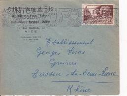 DOCTEUR PICQUé, ROUSSIN,VILLEMIN ET CHAPELLE DU VAL-DE-GRÂCE /N°898 YVERT ET TELLIER/07.07.1951/NICE - 1921-1960: Modern Tijdperk