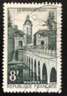 France - République Française - W1/10 - (°)used - 1957 - Michel 1134 - Le Quesnoy - Usati