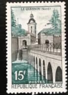 France - République Française - W1/10 - (°)used - 1957 - Michel 1145 - Le Quesnoy - Usati