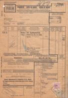 SUISSE. LETTRE DE VOITURE PETITE VITESSE. CHEMINS DE FER FEDERAUX. PORTO 280. OTELFINGEN POUR RUPPERSWIL     / 6000 - Covers & Documents