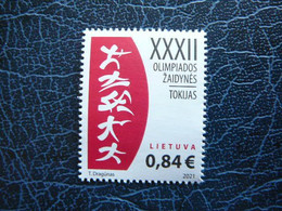 Summer Olympic Games - Japan # Lithuania Lietuva Litauen Lituanie Litouwen # 2021 MNH - Lithuania