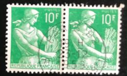France - République Française - W1/10 - (°)used - 1959 - Michel 1227 - Boerin - Usati