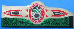 1 BAGUE DE CIGARE FLOR DE BRASIL TROPENSCHATZ GRAN FABRICA TABACOS FLOR FINA - Anelli Da Sigari