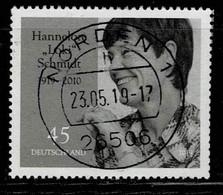 Bund 2019,Michel# 3448 O  100. Geburtstag Hannelore Schmidt - Oblitérés