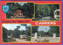 Carte Postale 62.  Camiers   Ste-Cécile  Camping Des Sables D'Or  Très Beau Plan - Altri Comuni