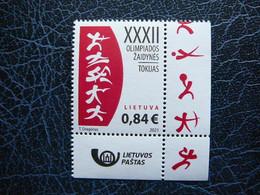 Summer Olympic Games - Japan # Lithuania Lietuva Litauen Lituanie Litouwen #02 2021 MNH - Lithuania