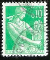 France - République Française - W1/10 - (°)used - 1960 - Michel 1275 - Maaister-Boerin - Usati