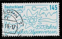 Bund 2019,Michel# 3456 O 150 Jahre Deutscher Alpenverein - Oblitérés