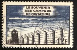 France - République Française - W1/9 - (°)used - 1955 - Michel 1048 - Bevrijding Concentratiekampen - Usati
