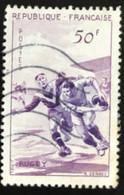 France - République Française - W1/9 - (°)used - 1956 - Michel 1102 - Sport - Usati