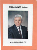 SALLAUMINES (P-de-C)  CAMPAGNE ELECTIONS MUNICIPALES. Achat Immédiat - Altri Comuni