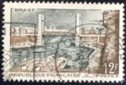 France - République Française - W1/11 - (°)used - 1957 - Michel 1144 - Brest - Usati