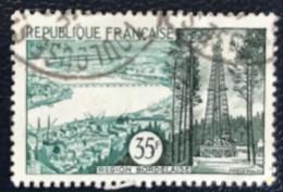 France - République Française - W1/11 - (°)used - 1957 - Michel 1146 - Brest - Usati