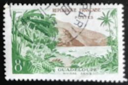France - République Française - W1/12 - (°)used - 1957 - Michel 1160 - Guadeloupe - Usati