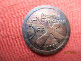 Congo-Katanga: 5 Francs 1961 - Congo (Republic 1960)