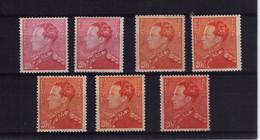 POORTMAN ** N ° 435  7 NUANCES à 49,50 - 1936-1951 Poortman