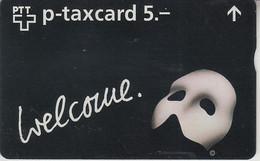 SWITZERLAND - PHONE CARD - TAXCARD PRIVÉE - FF ***  FANTÔME DE L' OPERA  *** - Suisse