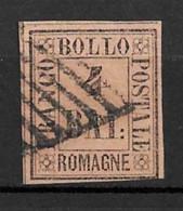 Romagne YT N° 5 Oblitéré. Signé. TB. A Saisir! - Romagna