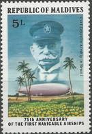 MALDIVES -   Le Dirigeable Graf Zeppelin Au Brésil - Zeppelins