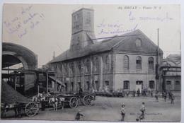 BRUAY - Fosse N°4 - CPA Animée 1919 - Altri Comuni
