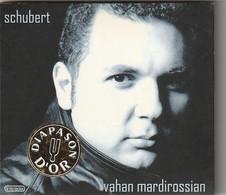 Cd  SCHUBERT  Vahan Mardirossian  Piano     :  Etat: Très Très Bon : - Classica