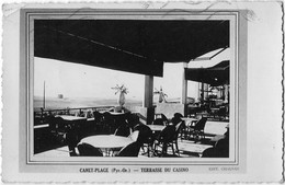 66 CPA CANET PLAGE TERRASSE DU CASINO - Canet Plage