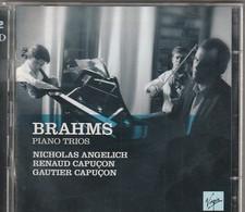 Cd  Double BRAHMS  Piano Trios  Nicolas Angelich Renaud Capucon Gautier Capucon   :  Etat: Très Très Bon : - Classica
