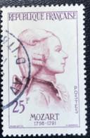 France - République Française - W1/13 - (°)used - 1957 - Michel 1172 - Mozart - Usati